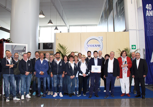 Inaugurata la Vip-One srl, Dealer Volvo Trucks.